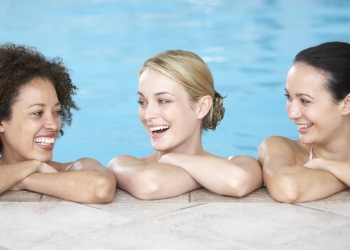 Women's only aquatic session