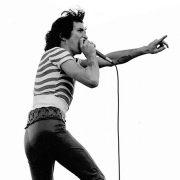 For those about to rock: today we salute one of Sunshine Primary School's finest, AC/DC front man Bon Scott who was born this day in 1946.  After emigrating from Scotland, Bon's family moved to Sunshine for several years where he attended primary school before moving to Fremantle.  Bon's early schooling isn't the only Brimbank connection with AC/DC. Did you know that the iconic 1976 video for 'Jailbreak' was filmed right here in Brimbank, at a quarry in Albion?  #RIPBonScott