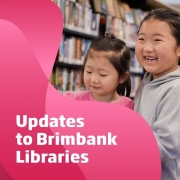 Although the Victorian Government has eased restrictions across the State today, we won't be opening our libraries, pool, and neighbourhood houses just yet.  We need to make sure the reopening of facilities and reintroduction of services can be done in a safe and responsible way for both staff and community members.  However a Click and Collect service is available from today at our libraries.  And our online services and programs are continuing.  Thank you for your patience and support.  We will post updates on our website when we have more information.